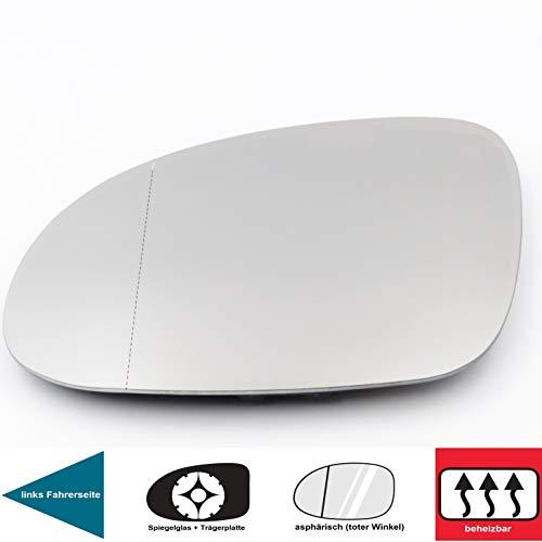 QSParts 4789 Spiegelglas Heizbar Links Fahrerseite