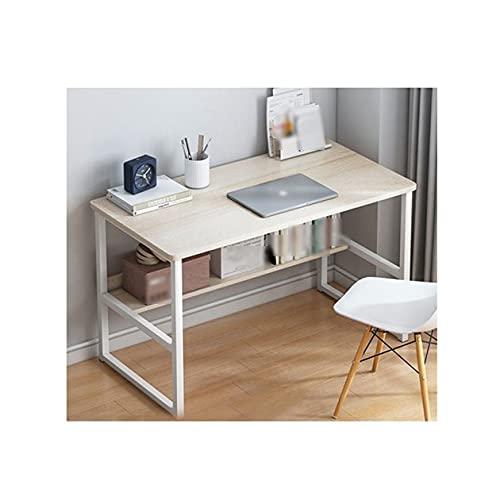 MARYYUN Escritorio Moderno y Sencillo para Espacios reducidos, la Mejor opción para Trabajar en casa Mesa Ajustable(Color:b)