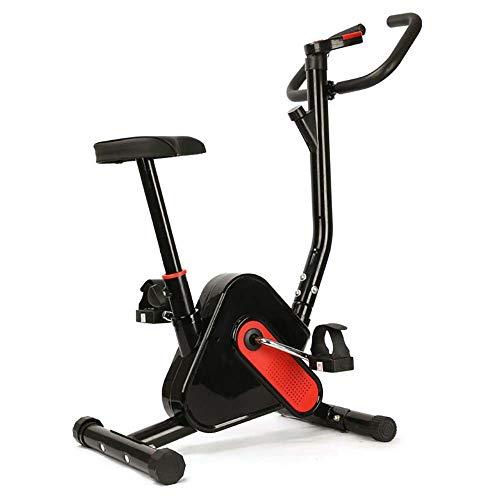 PLKJ Peleton Bicicleta estática, oficina, hogar, color rojo