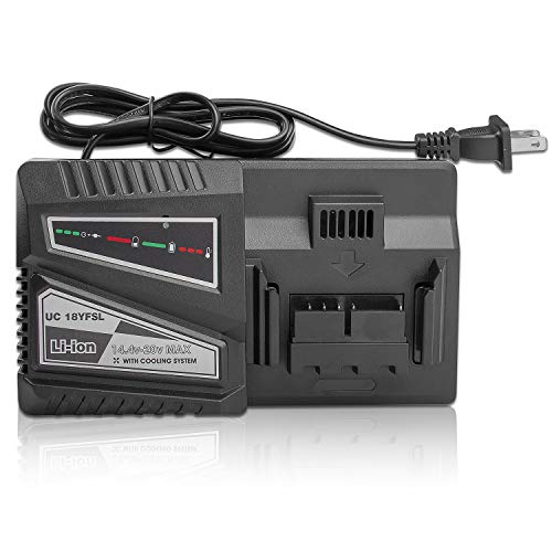 UC18YSFL Li-ion Battery Charger for Hitachi Electrical Drill 14.4V- 18V Li-ion Battery BSL1815 BSL1820 BSL1825 BSL1830 BSL1840 BSL1850 BSL1860 BSL1415 BSL1420 BSL1425 BSL1430 BSL1440 BSL1450