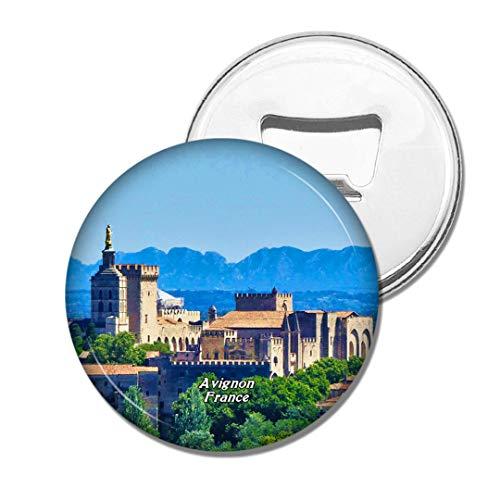 Weekino Frankreich Der Palast der Päpste Avignon Bier Flaschenöffner Kühlschrank Magnet Metall Souvenir Reise Gift