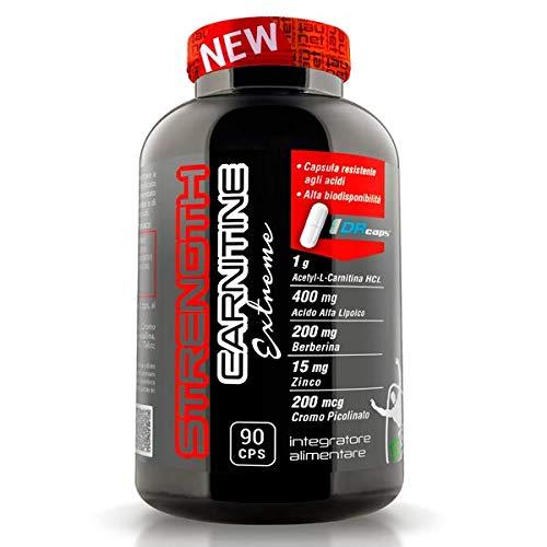 [SPED EXPRESS FREE!] Integratori Per Accelerare Il Metabolismo STRENGTH CARNITINE EXTREME 90CPS + omaggio 12x BOLERO STICK 3g - NT INTEGRATORI