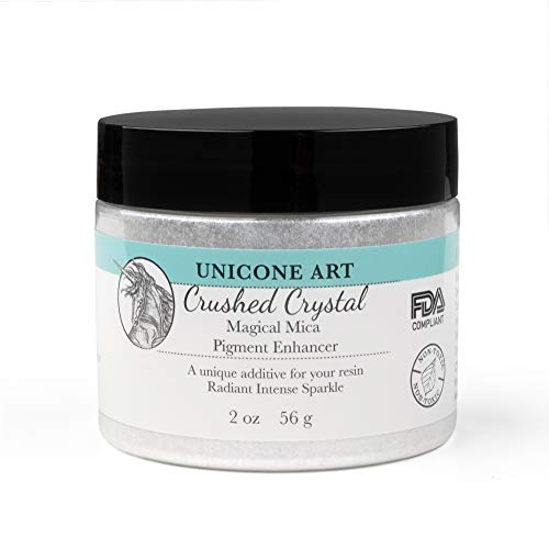 Crushed Crystal Unicone Art Mica Powder, Pigment Powder for Epoxy Resin