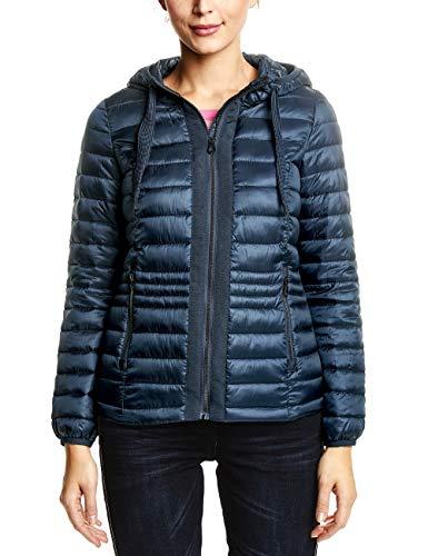CECIL Damen Jacke 201188, deep Blue, XX-Large (Herstellergröße: XXL)