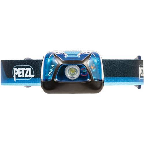 PETZL Unisex– Erwachsene TIKKA-CORE-50th E111AA00, blau-schwarz