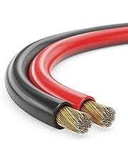 30 m luidsprekerkabel 2 x 2,5 mm2 rood/zwart