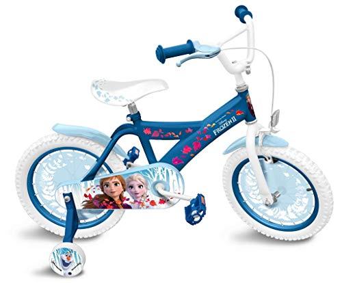 keine Angabe Frozen II Die Eiskönigin Kinderrad Anna und ELSA mit Rücktrittbremse, 16 Zoll