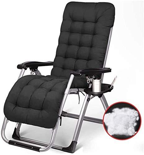 Suge Cubierta plegable Silla Tumbona reclinable plegable silla sillas jardín Patio Playa balcón de la oficina de la siesta Silla de playa reclinable Inicio de múltiples funciones