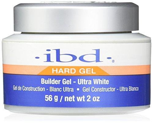 IBD Builder Gel Vernis à Ongles Traitement Ultra White 56g