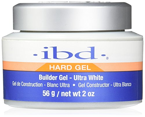 IBD UV Gels, Ultra White Builder Gel 2 oz