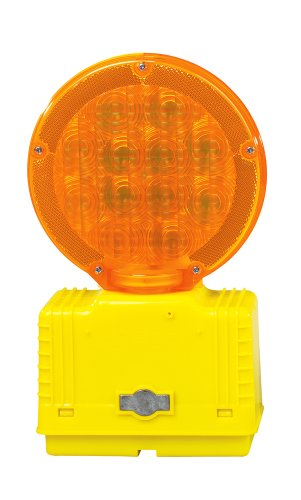 Price comparison product image Cortina Strato-Lite LED Barricade Light with Photocell 03-10-3WAYDC,  6 VDC,  Amber