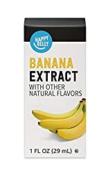 Amazon Brand - Happy Belly Banana Extract with other natural flavors, 1 fl oz