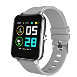 "Zagzog Smart Watch for Men Women, Smartwatch for Andriod iOS Phones, 1.54"" Full Touch Screen, All-Day Activity Tracking, IP68 Waterproof, Step Counter, Pedometer, Ultra-Long Battery Life"