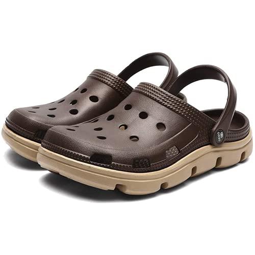 Mlcjva zomer heren zachte pakket sandalen isolerende strand slippers sandalen tuinschoenen heren zwembad sandalen vocht glijdende badkamer slippers