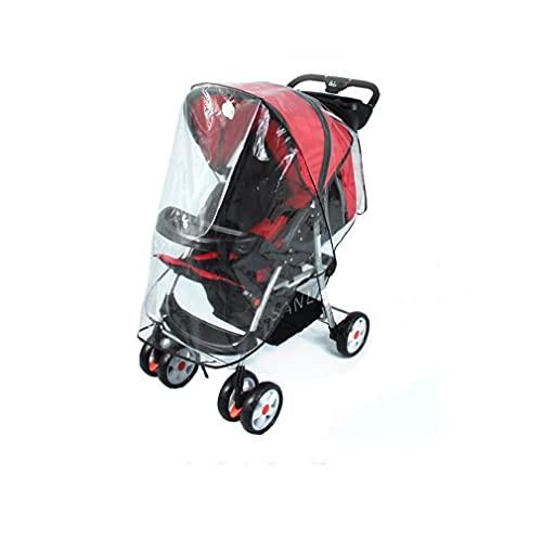 fregthf Universal del Impermeable Impermeable para el Cochecito de bebé o Cubierta Protectora del Cochecito de bebé (tamaño estándar) 1PCS