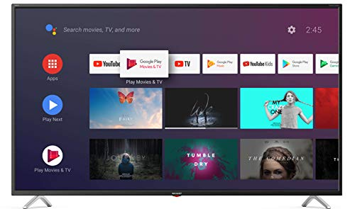 "SHARP AQUOS 43BL2EA Smart TV 43"" LED Ultra HD 4K con Assistente Google, Wi-FI, 3x Hdmi, Audio 2x10W, 108 cm"