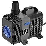 Tauchpumpen, ECO Filterpumpe Teichpumpe Filter Teich Gartenpumpe Pumpe 3000-6000L/H ZI 06 (60)