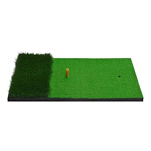 Limuchen Plegable Mat de Golpe de Golf para jardín, práctica portátil Mini Golf Trainer Putter Mat Lanzamiento de Estera con Base de Goma Resistente, 40 × 70 cm Portátil