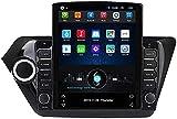Navegación GPS con Radio Android de 9.7 Pulgadas para Kia Rio 2011-2019 Sistema Multimedia de Audio y Video con Radio de automóvil Que admite Funciones como el Control del Volante