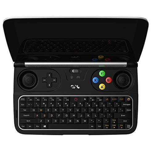 QIUUE GPD Win 2 - Mini Gaming Handheld Console Windows 10 Intel m3 2.6Ghz 256GB RAM US (A) Black