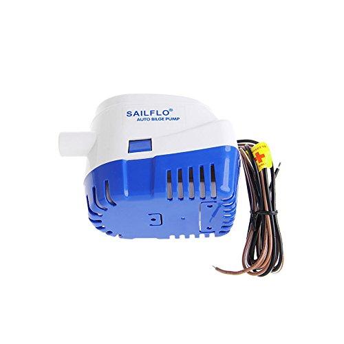 ONEVER Auto Wasserpumpe 750 GPH Boot 12V Marine Automatic Subbersible Bilge Mit Schwimmerschalter für Teiche, Pools, Yacht
