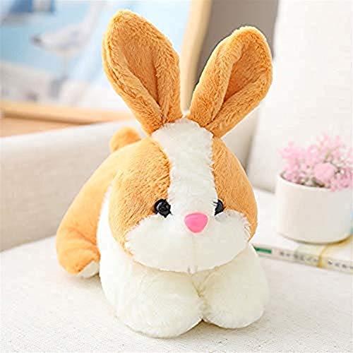 Uymkjv Muñeco de Peluche 1PCS 22CM / 28CM Muñeco de Peluche de Conejo de 4 Colores, Lindo muñeco de Conejo, Regalo de cumpleaños