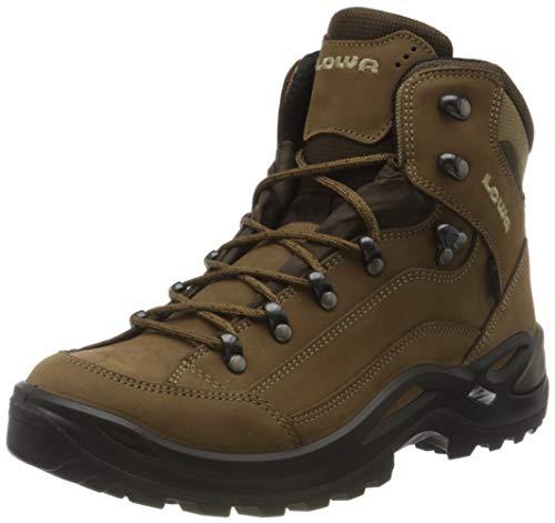 LOWA Damen RENEGADE GTX MID WS Ankle Boot, Braun Taupe 0436, 41 EU