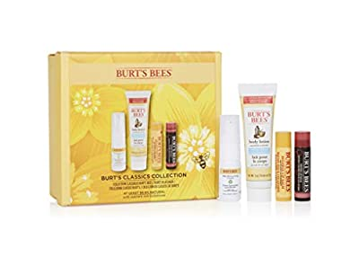 Burt's Bees Classics Collection Moisturising 4 Piece Gift Set, 0.158 kg from Burts Bees