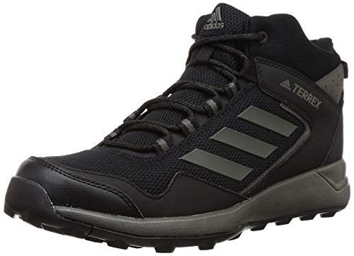 Adidas Men's Trail Rocker Mid Utility Grey/Core Black Trekking Shoes-8 UK (42 EU) (8.5 US) (CM5914)