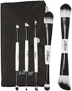 Just Gold 5 Pieces Brush Set - Black, JG-9297, Pack of 1