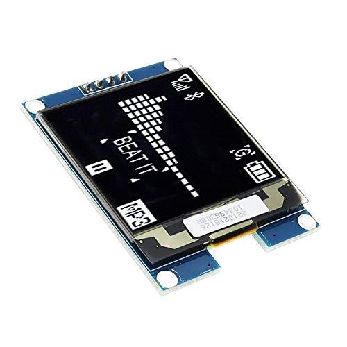 1,5-Zoll OLED LCD Display IIC Serien Weiße OLED-Display-Modul 128x128 I2C 1.5inch SSD1327 128128 LCD-Schirm-Brett for Arduino