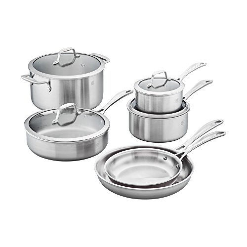 ZWILLING J.A. Henckels FBA_64090-001 Stainless Steel Cookware Set