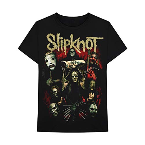 Bravado Slipknot Come Play Dying Camiseta para hombre -  Negro -  XX-Large
