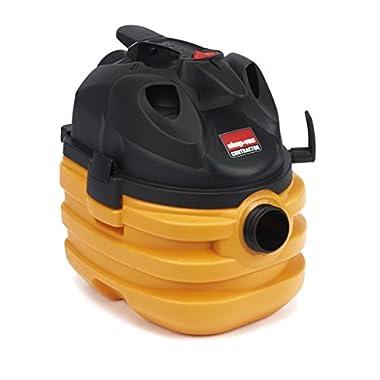 Shop-Vac 5872810 6.0 Peak HP Heavy Duty Portable Vacuum, 5 gallon, Yellow/Black