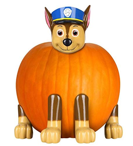 Gemmy Paw Patrol Chase The Police Pup Pumpkin Push-in Kit Halloween Prop