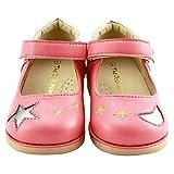 The Doll Maker 女児用 メリージェーン フラット 幼児/キッズ用スクールドレスシューズ US サイズ: 5 Toddler カラー: ピンク