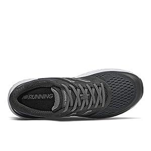 New Balance Men's 840 V4 Running Shoe, Black/White, 11 Wide