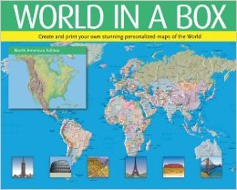 World in a Box (Create & Print Your Own Stunning Personalized Maps of the World) by Ben Renow-Clarke