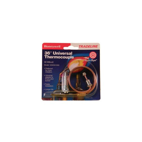 """Q340A1090 - Aftermarket Upgraded Replacement for Honeywell Tradeline Gas Furnace Water Heater 36"""" Thermocouple"""