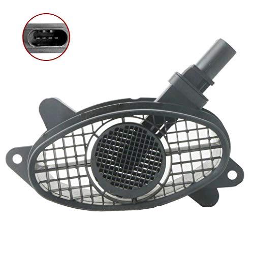 MOSTPLUS Luftmassenmesser/Luftmassensensor, LMM/LMS Kompatibel mit E60 E81 E87 13627788744 0928400529 (Kompatibilität mit Linkslenker-Fahrzeugen nicht garantiert)