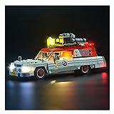 RHJK Juego de Luces LED Conjunto Lámparas, Cazafantasmas Bloque de construcción de iluminación, Compatible con Lego 75828, Fit 14 Años de Edad Over, (no incluir Modelo)