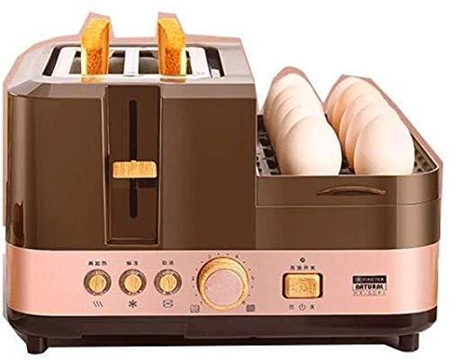 GJJSZ Máquina de Desayuno Multifuncional,220V-240V,sartén a Vapor con Placa Antiadherente extraíble,sandwichera,Completamente automática y hervidor de huevos20 xiao1230