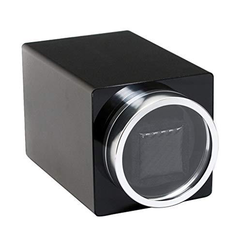 LAMZH Caja Almacenamiento Reloj Automatico Watch Winder, Rotación Dos Direcciones,rotador de Motor Ultra Silencioso Motor Calidad y Silencioso Caja Giratora Ver Caja de Almacenamiento exhibición