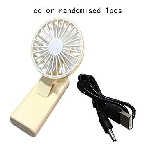 Jessicadaphne Mini Telefono Cellulare Mini Ventilatore USB Dormitorio per Studenti Silenzioso Piccolo Ventilatore Mini Portatile Portatile Clip Fan Regalo