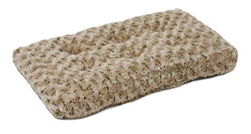 MidWest Homes for Pets Plush Pet Bed | Ombré Swirl Dog Bed & Cat Bed | Mocha 17L x 11W x 1.5H -...