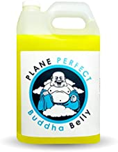 Plane Perfect Buddha Belly Plant Based Degreaser Aviation, Automotive and Motorcycle Cleaner Removes Oil, Dirt, Grime, Bugs, Motor Engine and Auto Exhaust Stains and more (Gallon Refill)