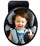 Specchietto retrovisore per bimbi grande 19 cm Baby Specchietto di sicurezza BabyView per tutte le auto perfetto per seggiolini bambini per una maggiore sicurezza in macchina