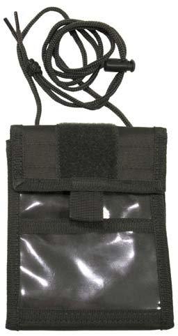 Brustbeutel mit Umhängekordel und diversen Taschen, aufklappbar, Farbe: oliv oliv/OD green