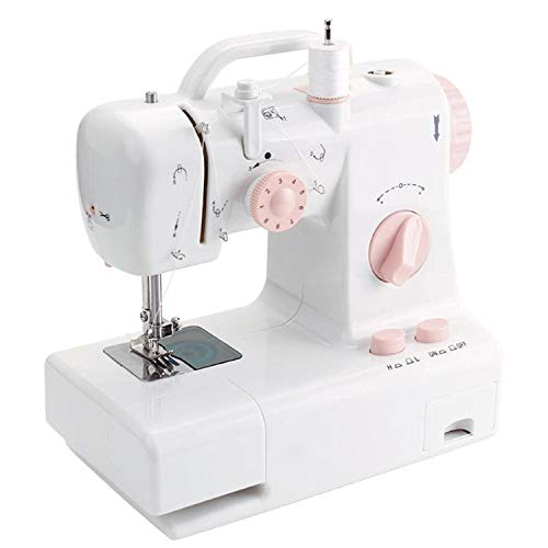 For Sale! Electric Sewing Machine FHSM-318 Mini Sewing Machine Built-in Light Household Mending Mach...
