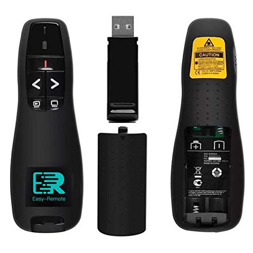 Easy Remote Control Laser Pointer Flip Pen, Wireless USB PowerPoint PPT Presenter Meeting, Support hyperlinks RF 2.4GHz PresentationRemote Clicker with Laser for Multi Media Devices